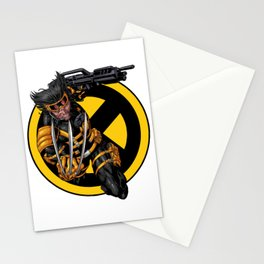 Weapon X Stationery Cards