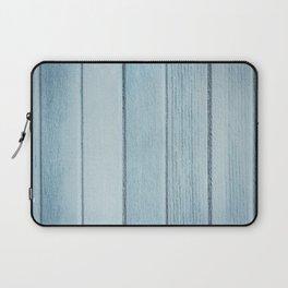 Texture fence rough blue wood Laptop Sleeve