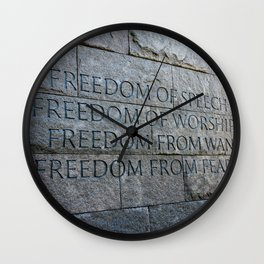 FREEDOM for all of us Wall Clock
