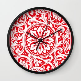 Playing Card (Red Back) Wall Clock