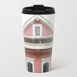 Pink House in Nola Travel Mug