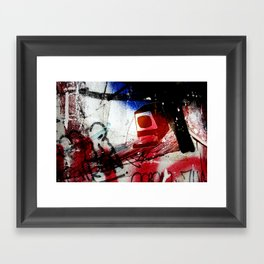 Monitor Framed Art Print