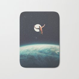 Returning to Earth with a will to Change Bath Mat