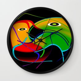 Love interaction Wall Clock