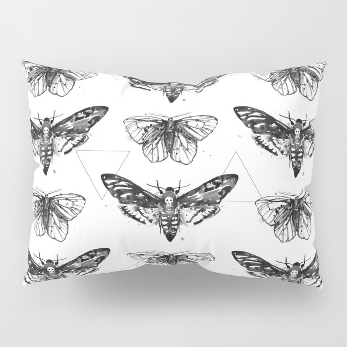 Geometric Moths Pillow Sham