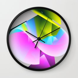 Abstract Shape. Minimalism. #3 Wall Clock