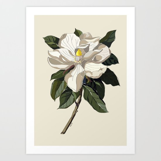 Within a Flower Art Print