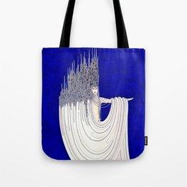 """""""North Sea"""" Art Deco Design Tote Bag"""