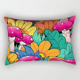 Autumn undergrowth Rectangular Pillow