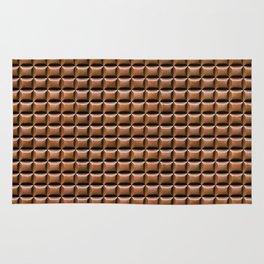 Chocolate Bar Overhead Rug