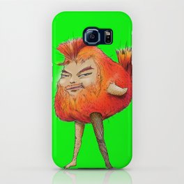 ugly angry angry boy bird iPhone Case