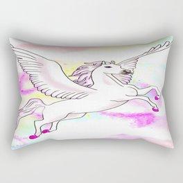 Flying Mount Rectangular Pillow