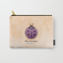 Penny the Ladybug by leatherprince Carry-All Pouch