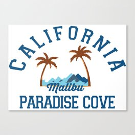 Malibu California.  Canvas Print