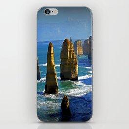 Limestone Rock Stacks - Twelve Apostles iPhone Skin