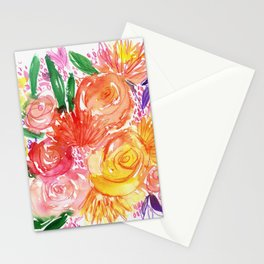BRIGHT ROSES Stationery Cards