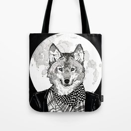 The Cryptids - Werewolf Tote Bag