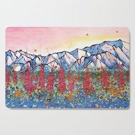 Denali Alpenglow Cutting Board