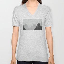 Pixel Art Landscape 005 Unisex V-Neck
