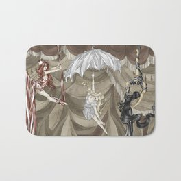 Midnight Circus: the Acrobats Bath Mat