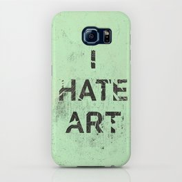 I HATE ART / PAINT iPhone Case