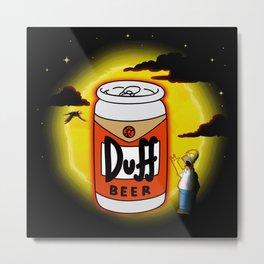 Duff in Paradise Metal Print