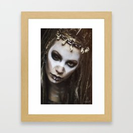 voodoo fairy Framed Art Print