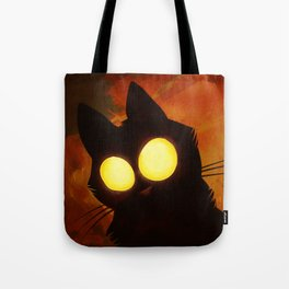 That unkown cat with big bright eyes Tote Bag