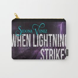 Lightning Strikes by Sedona Venez Carry-All Pouch