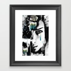 Please don't cry Framed Art Print