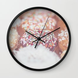 Delicious Donuts Wall Clock