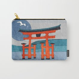 Japanese Shinto at Evening Carry-All Pouch