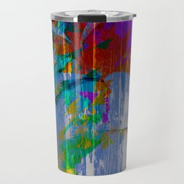 Texture of Summer Travel Mug
