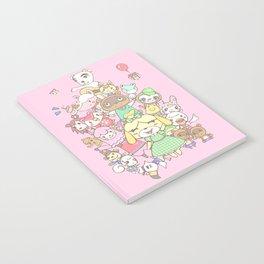 Animal Crossing (pink) Notebook
