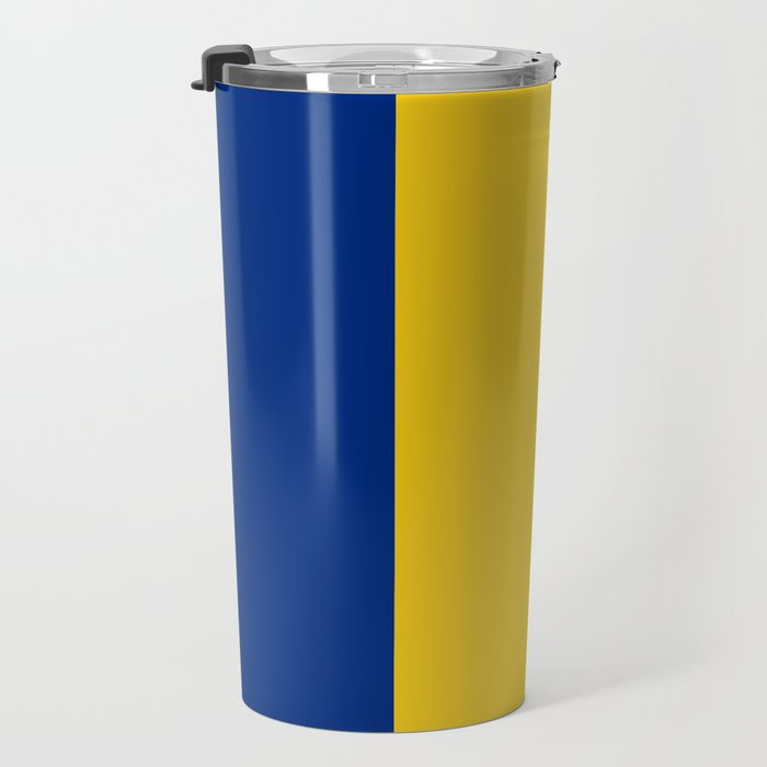 Flag of romania 3 -romania,romanian,balkan,bucharest,danube,romani,romana,bucuresti Travel Mug