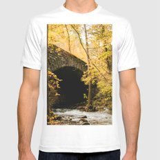 Stone Bridge Mens Fitted Tee White MEDIUM