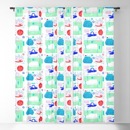 Sewing Machine & Crafting Supplies Blackout Curtain