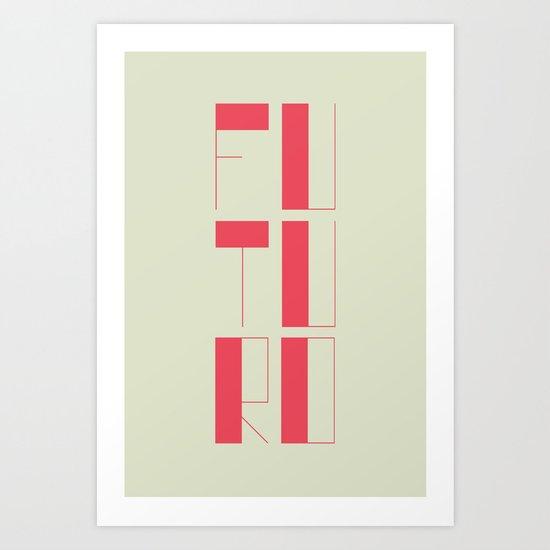 FUTURO Art Print