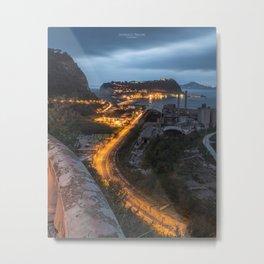 Road of light Metal Print