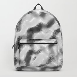 Liquid Silver Backpack