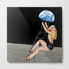 hey everybody lets get back to earth Metal Print