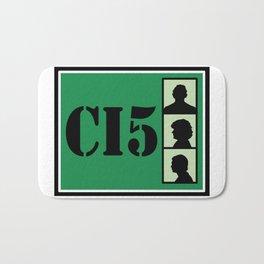 CI5 - The Professionals - Bodie & Doyle Bath Mat