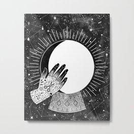 Waxing Gibbous Metal Print