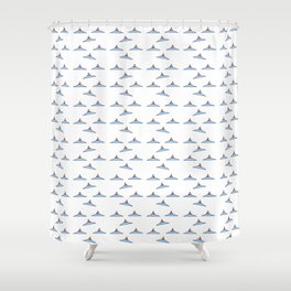 Flying saucer 1 Shower Curtain