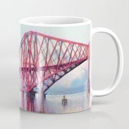 Forth Bridge, Scotland Coffee Mug