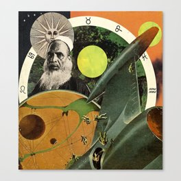 Meteors of Fortune Teller, a rotational view Canvas Print