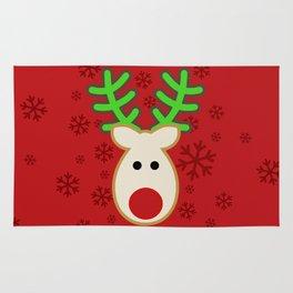 Rudolph the Reindeer Rug
