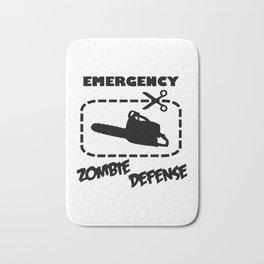 Zombe - Emergency Defense Chainsaw Bath Mat