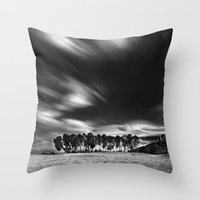 blues Throw Pillows featuring Blues... by Guido Montañés