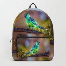 Mallee Ringneck Parrot Backpack